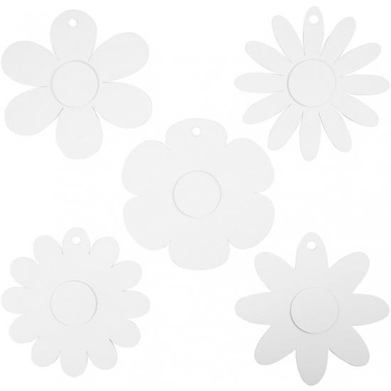 OndergoedwinkelDecoratie bruiloft bloemen van karton