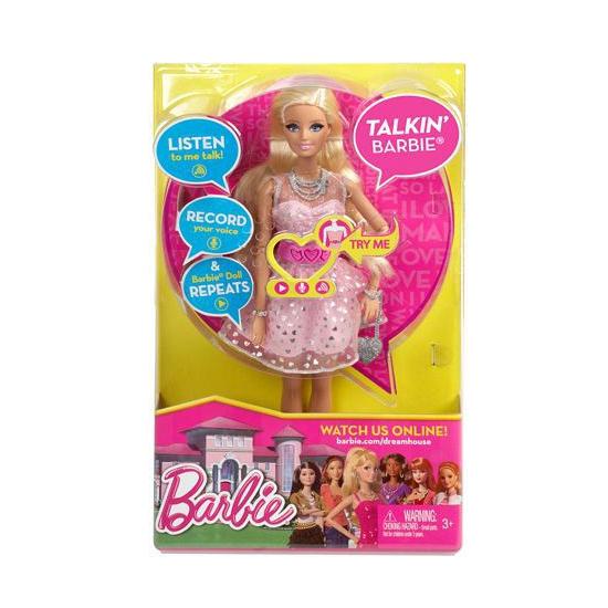 Dreamhouse Barbie met praat functie