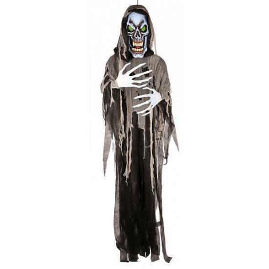 OndergoedwinkelHalloween - Decoratie horror skelet met led licht