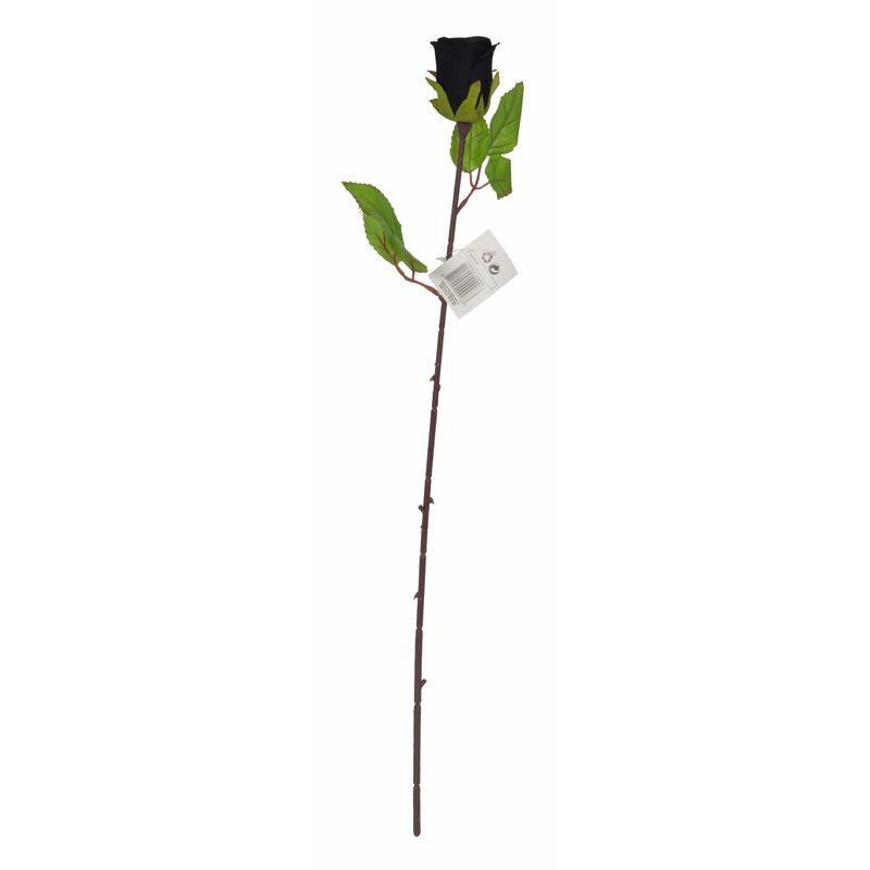 geenHalloween - Kunstbloem roos 63 cm