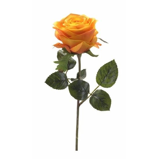 geenKunstbloem Roos Simone 45 cm