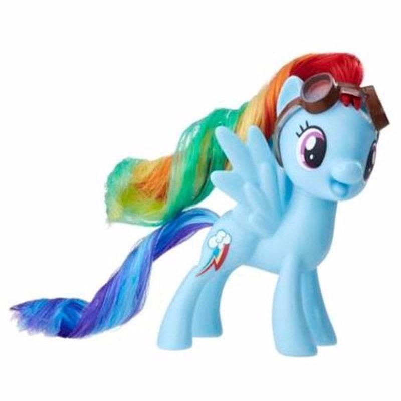 My Little Pony speelfiguur paardje Rainbow Dash 7 cm