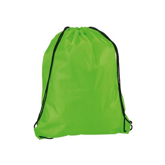 Neon Groene Gymtas Met Rijgkoord kopen